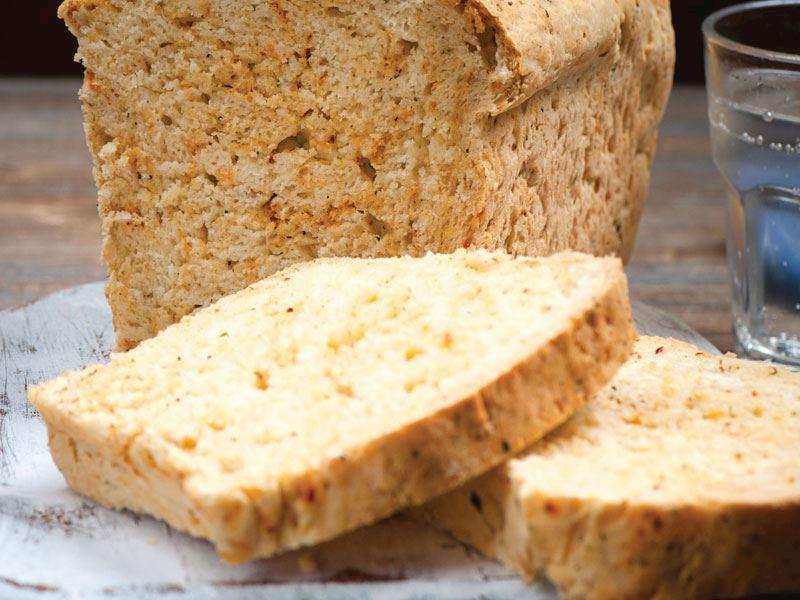 Baharatlı tost ekmeği