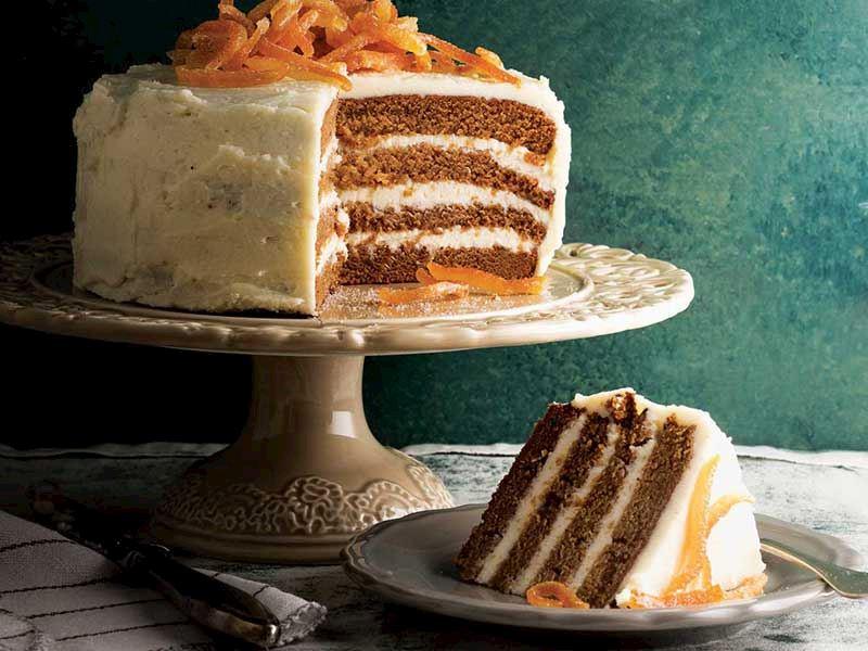Baharatlı ve tereyağlı kat pasta