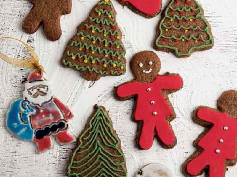 Baharatlı yeni yıl bisküvisi