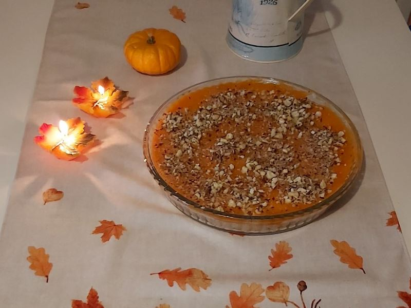 Balkabaklı Leziz ve Hafif Sonbahar Pastası