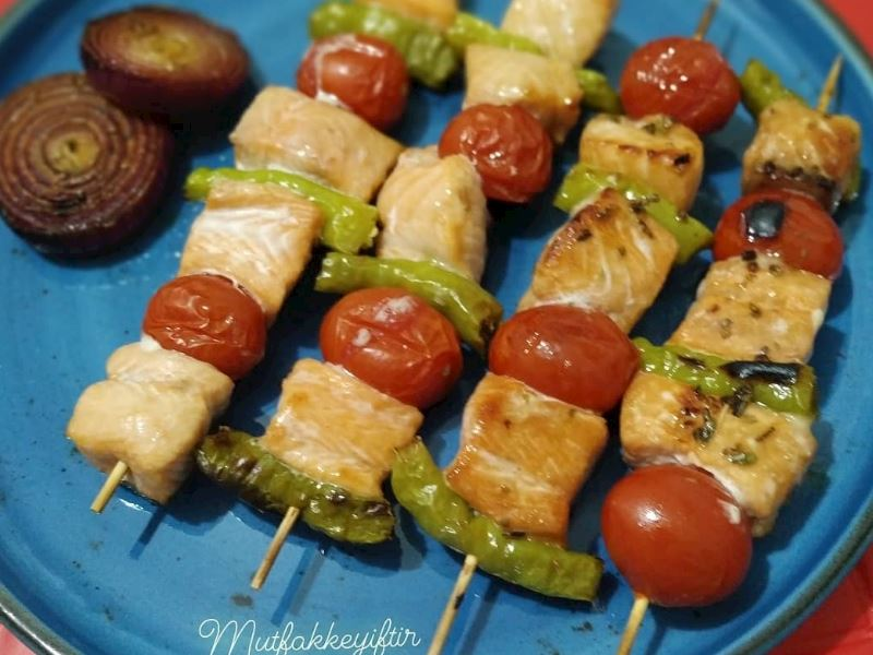 Ballı soslu & Soya soslu somon