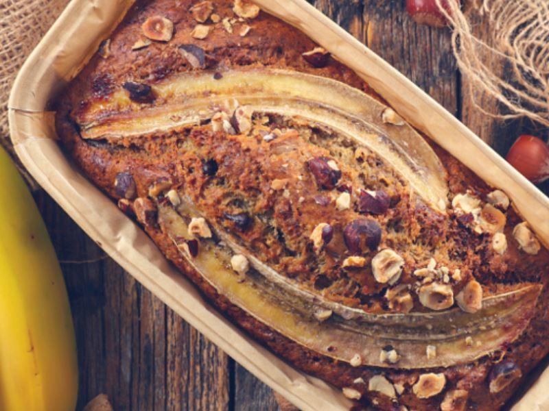 Banana Bread ( Muzlu Kek )
