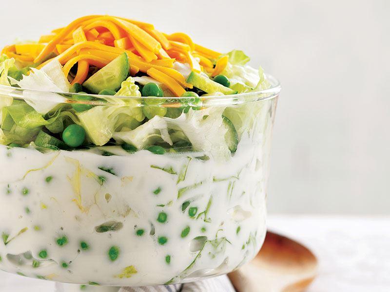 Bezelyeli Salata