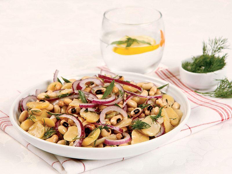 Börülceli Bakla Salatası