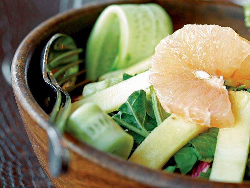 Brezilya Usulü Meyveli Mevsim Salatası