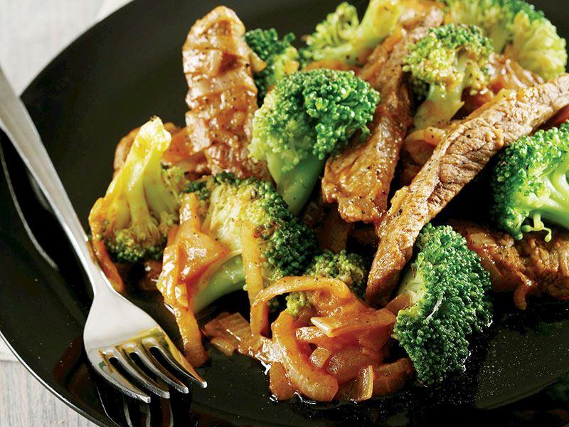 Brokolili Biftek