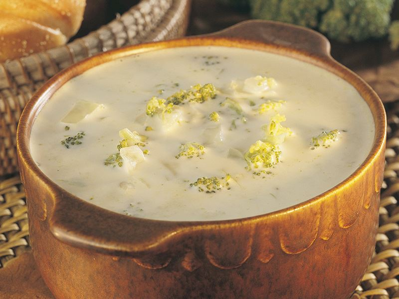 Brokolili Lahana Çorbası