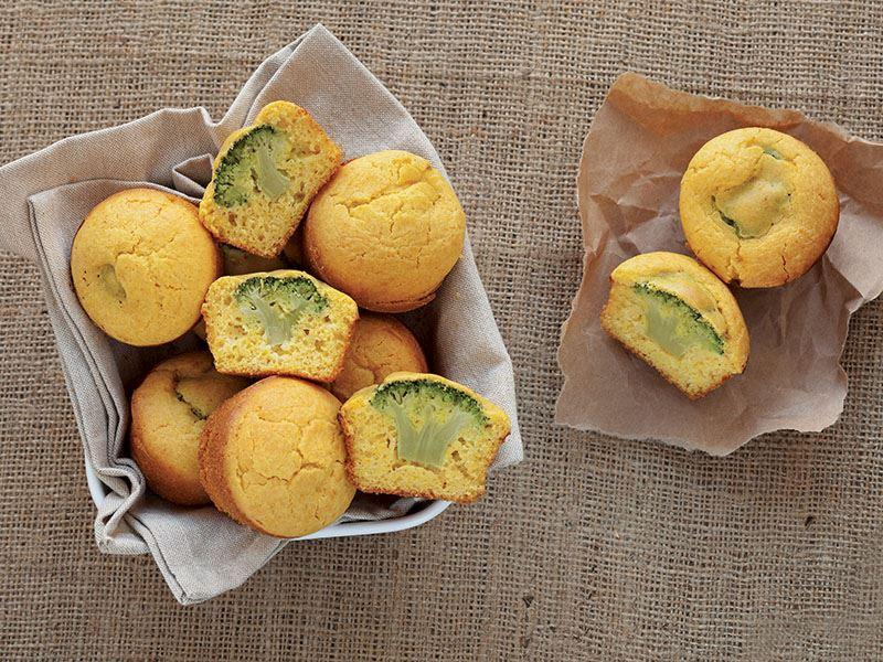 Brokolili Mısır Ekmeği