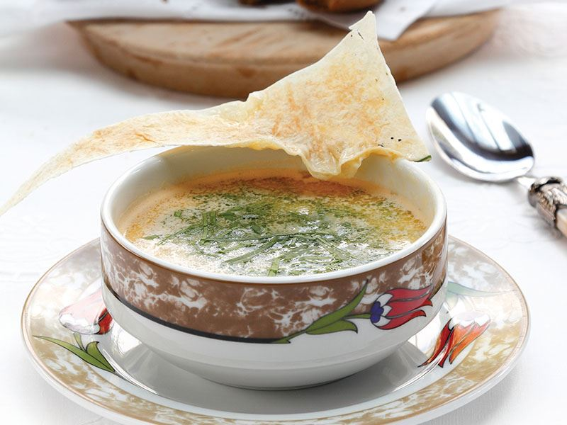 Buğdaylı Balık Çorbası