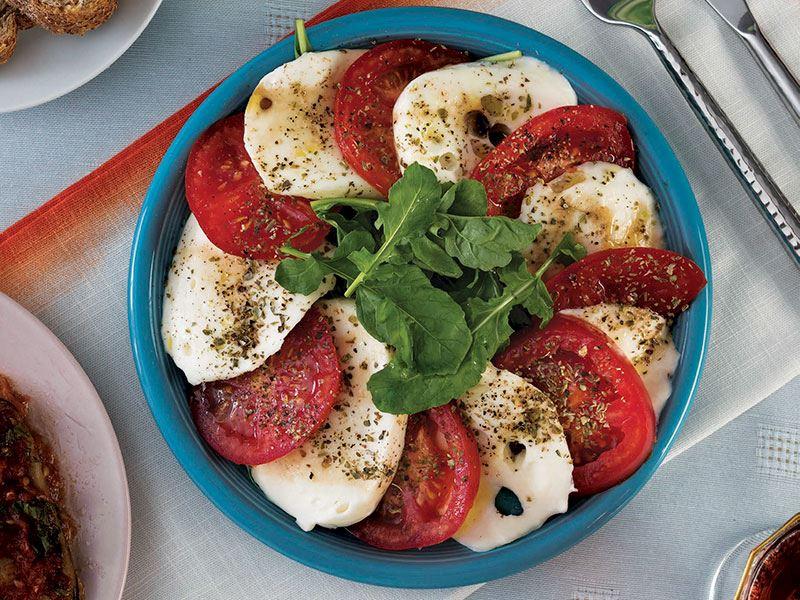 Caprese salatası