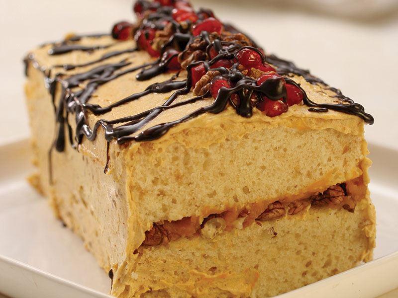 Cevizli Balkabağı Pastası