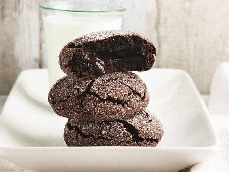 Çikolata dolgulu kurabiye