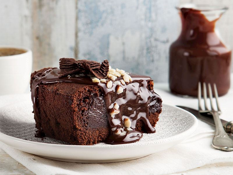Çikolatalı fındıklı cheesecake