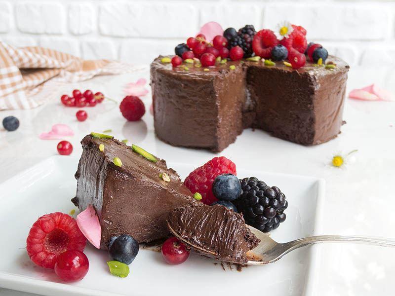 Çikolatalı markiz (Yoğun çikolatalı donuk pasta)