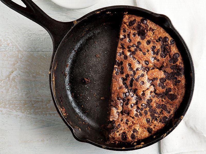 Çikolatalı pizza kurabiye