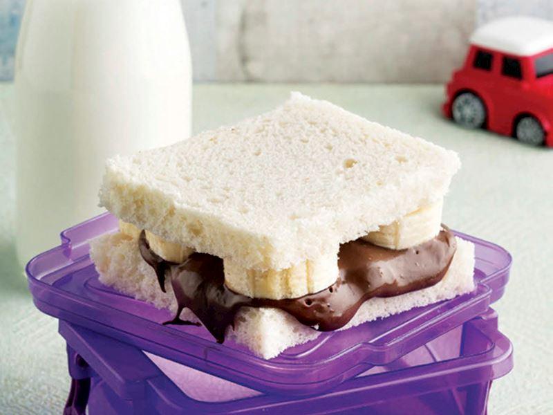 Çikolatalı ve muzlu tost