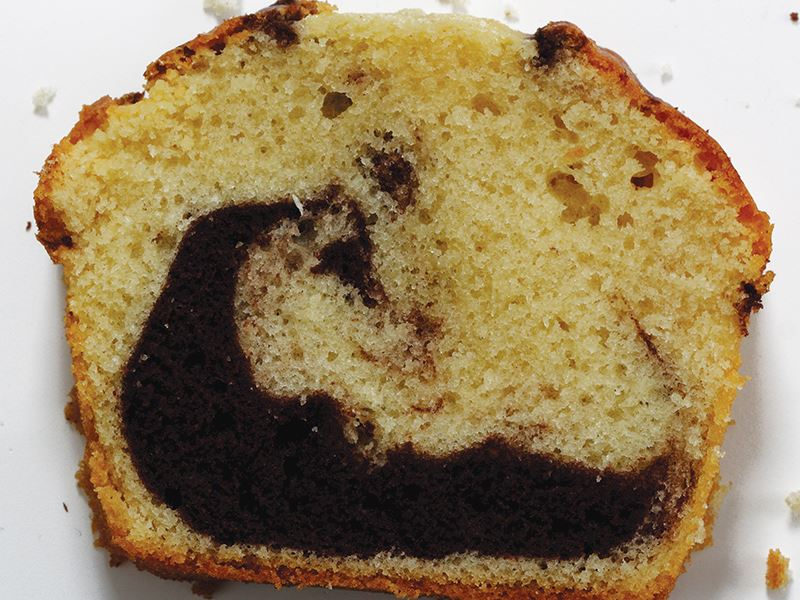 Çikolatalı Mermer Kek