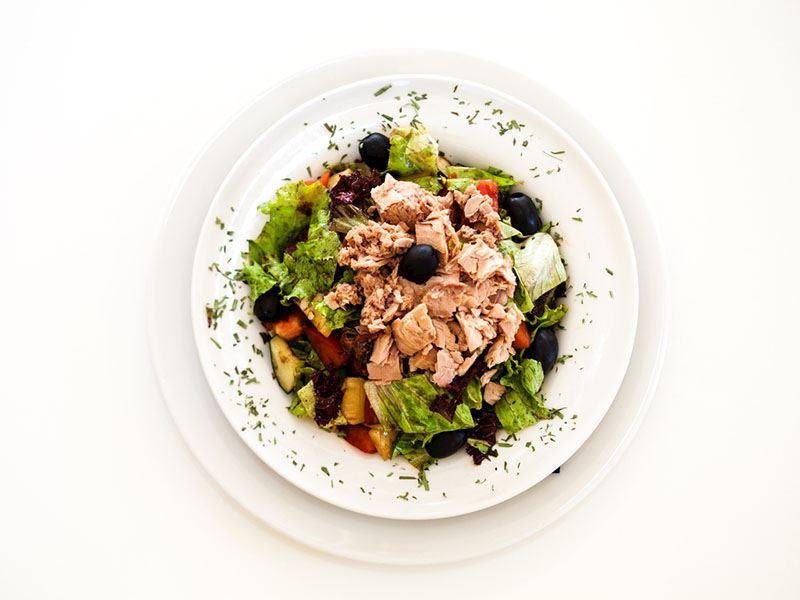 Çiroz salatası