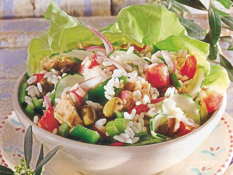 Çok Renkli Lezzet Salatası