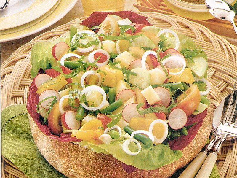 Ekmek Sepetinde Eylül Salatası