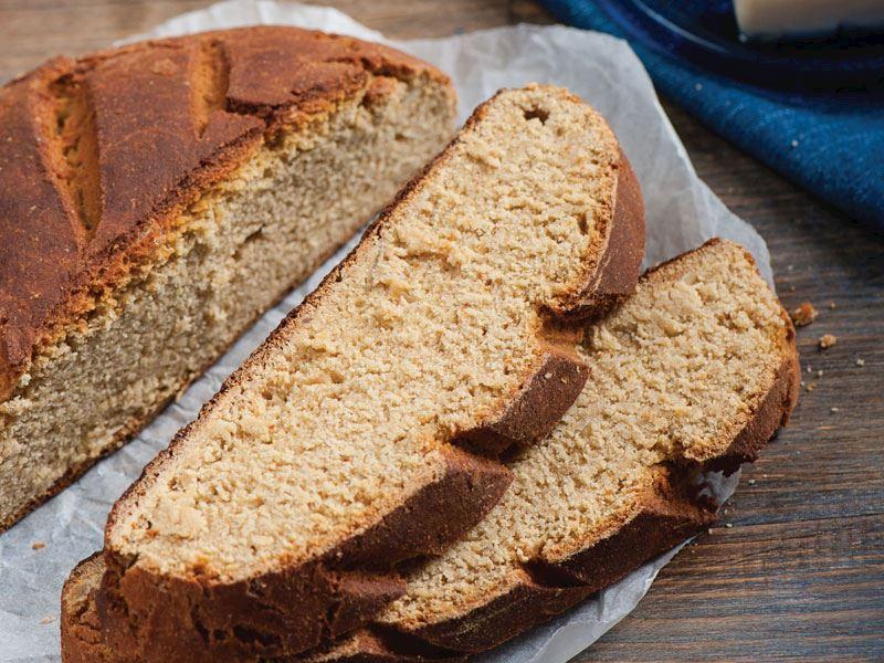 Ekşi mayalı nohut ekmeği