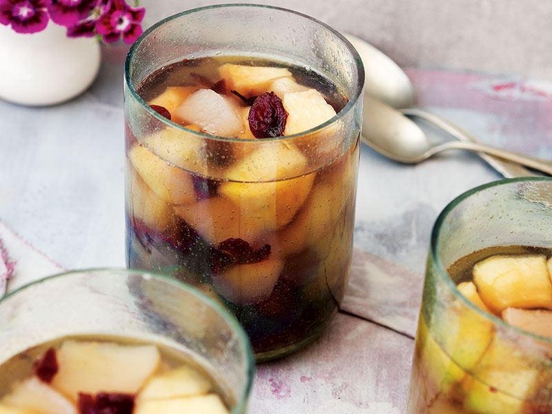 Elmalı ve armutlu komposto