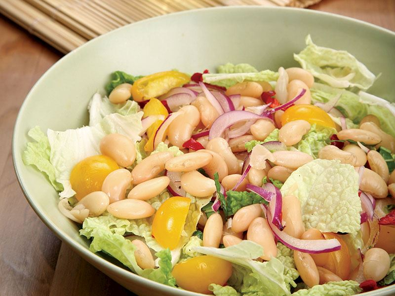 Fasulyeli Salata
