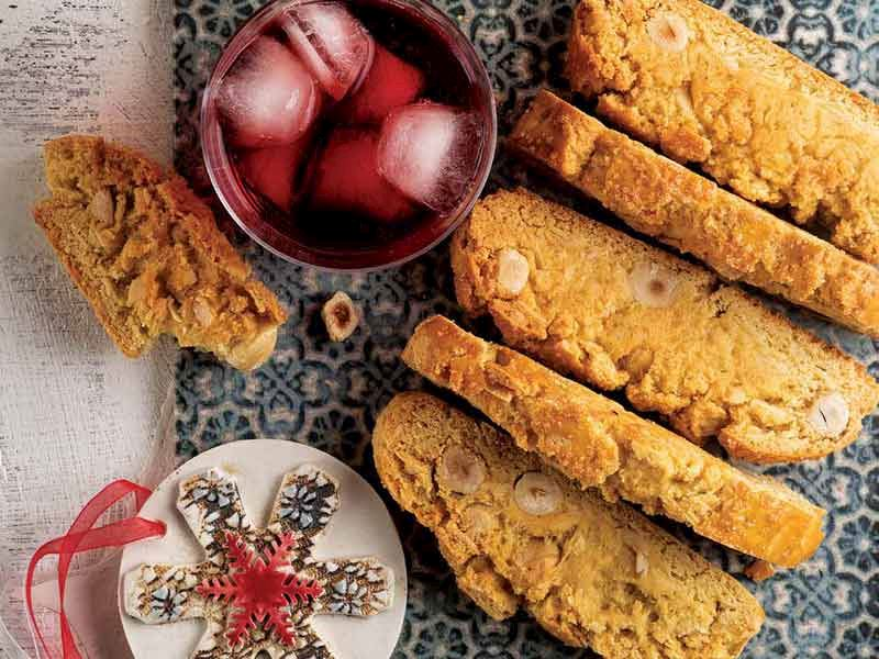 Fındıklı bademli biscotto