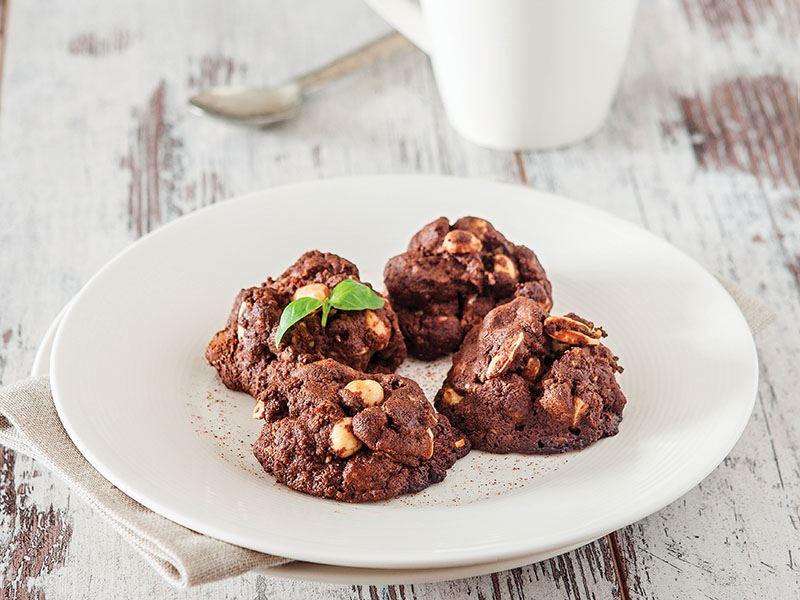 Fındıklı Bol Çikolata Bisküvisi