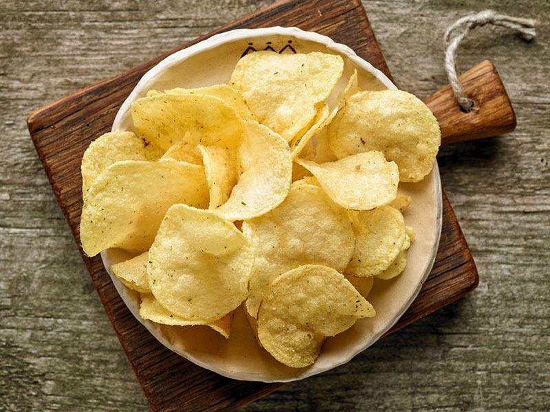 Fırınlanmış Patates Cips