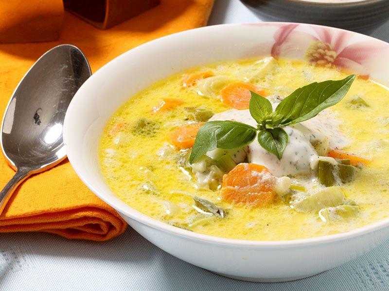 Fırınlanmış Sebze Çorbası