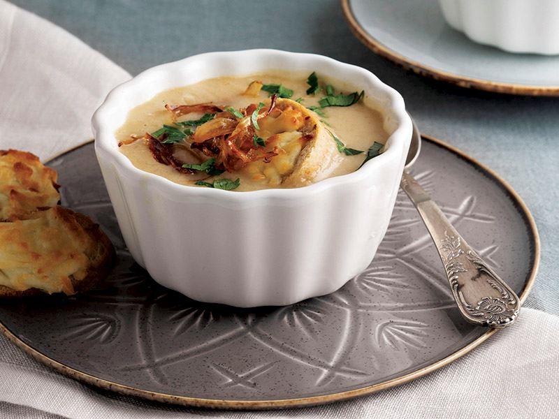 Fransız soğan çorbası