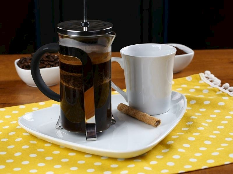 French Press Kahve