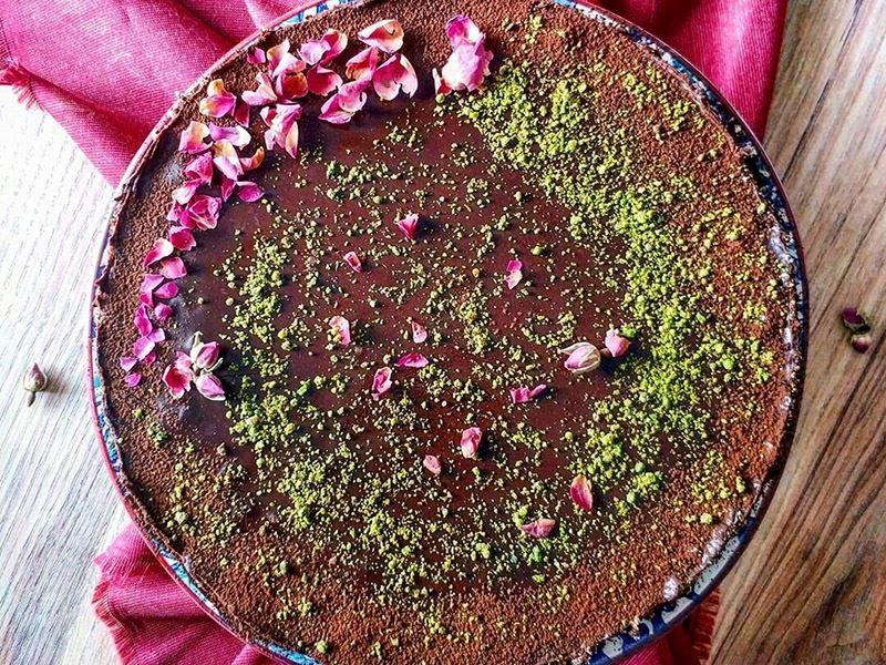 Ganajlı mozaik pasta