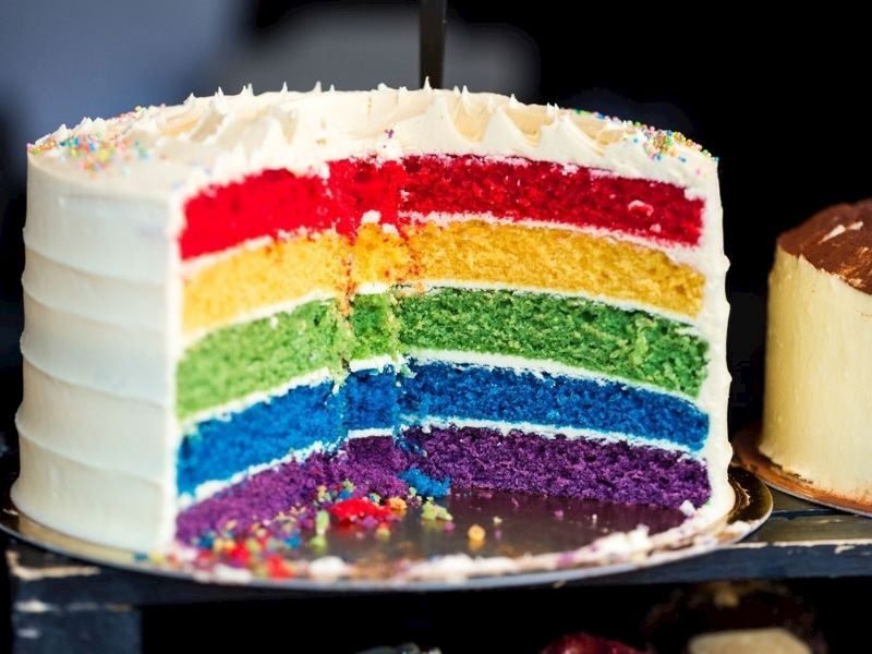 Gökkuşağı (Rainbow) Kek