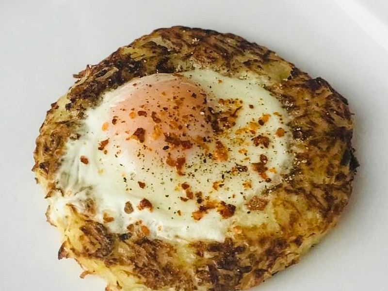 Hash Brown Egg