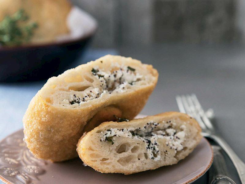 Haşhaş tohumlu pratik puf böreği