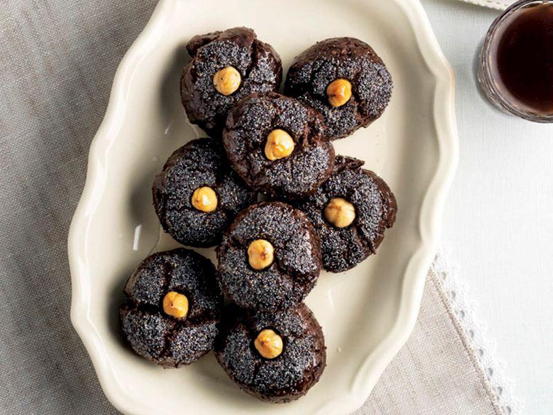 Haşhaşlı kakaolu şekerpare