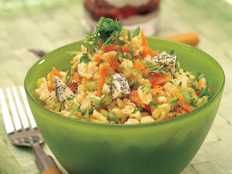 Havuçlu Ve Kabaklı Buğday Salatası