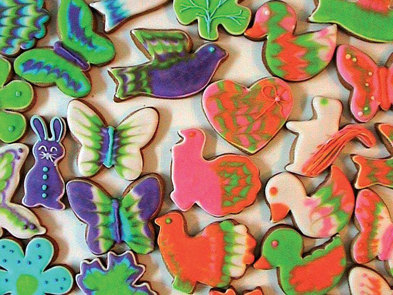 Hayvan figürlü kurabiye