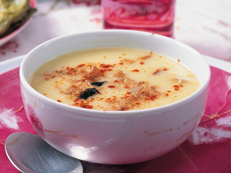 Hindi Etli Kabak Çorbası