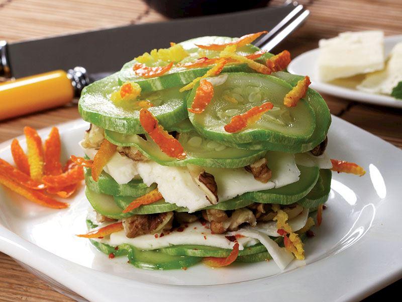 İzmir Tulum Peynirli Kabak Salatası