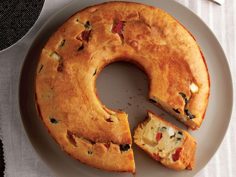 Kahvaltılık Tuzlu Kek