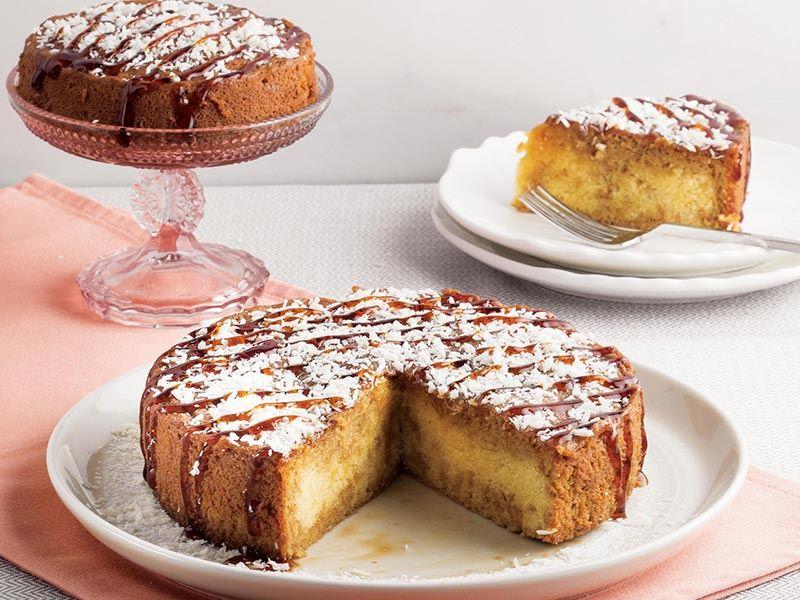 Kahveli sünger kek