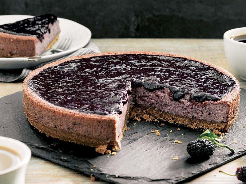 Karadutlu cheesecake