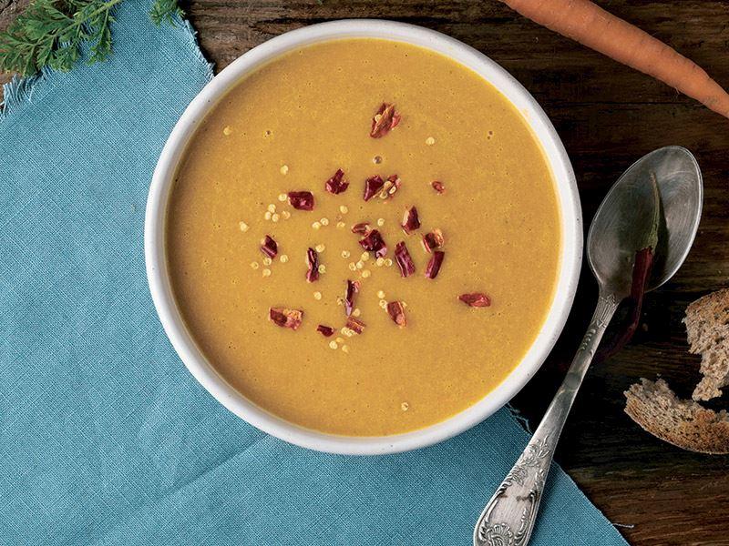 Karamelize havuç çorbası