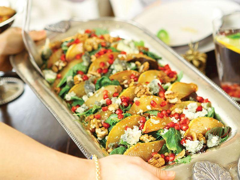 Karamelize Armutlu Maskolin Salata