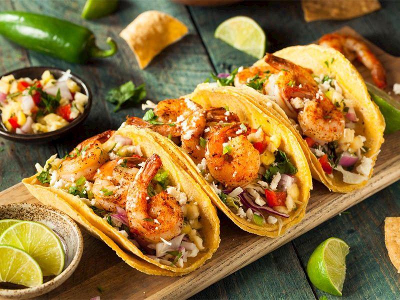 Karidesli Taco
