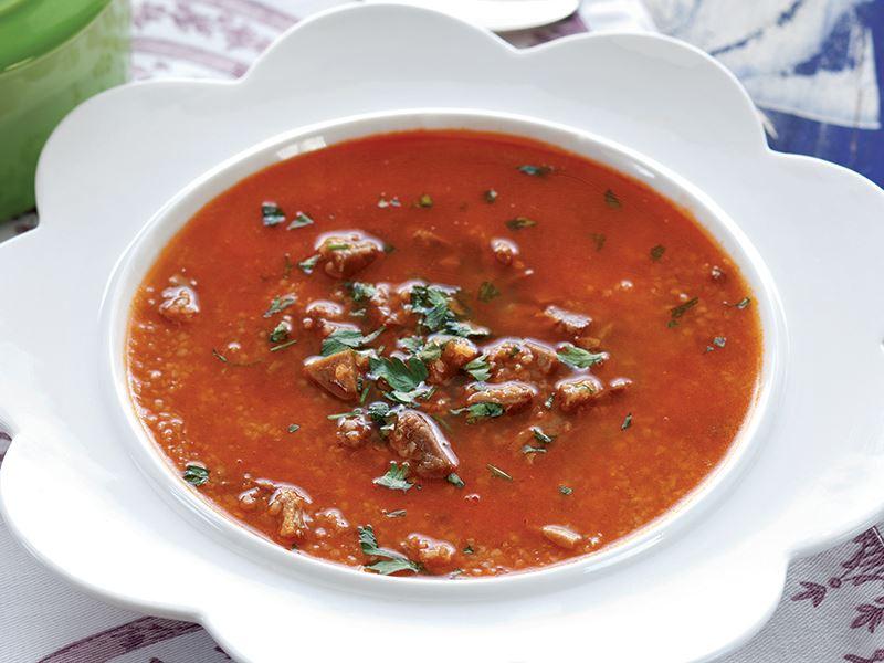 Kavurmalı Çorba