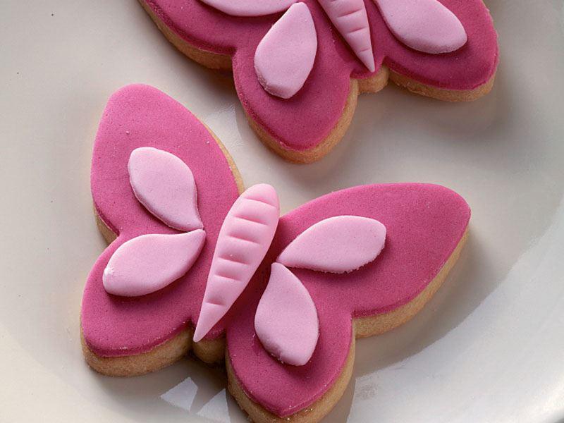 Kelebek kurabiye